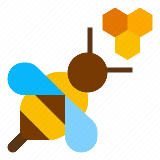 Bee, farm, honey icon - Download on Iconfinder on Iconfinder