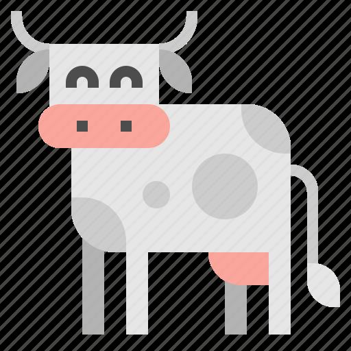 animal, cow, mammal icon