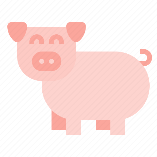 animal, mammal, pig icon