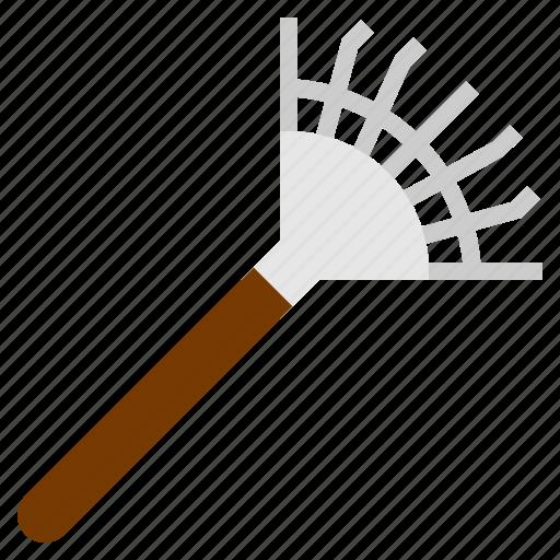 farm, rake, tool icon