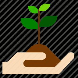 farm, fruit, sprout, vegetable icon