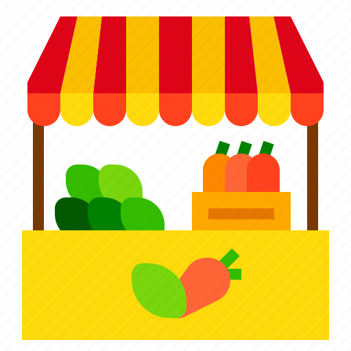 Market, stall, store icon - Download on Iconfinder