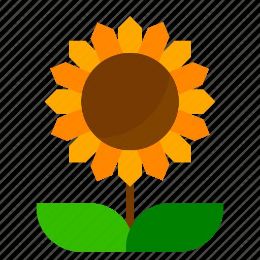farm, flower, sunflower icon