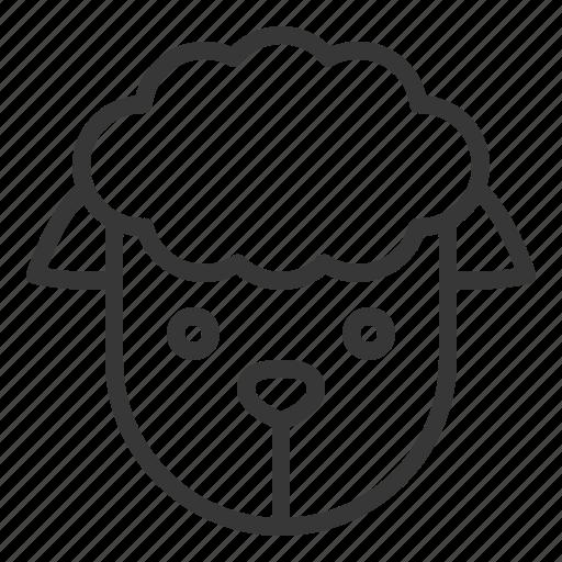 animal, fariming, farm, sheep icon