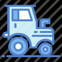 engine, farm, tractor, transport