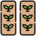 agriculture, farm, field, harvest, plant icon