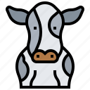 animal, cow, farm, mammal, ox