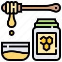 food, healthy, honey, honeycomb, syrup icon