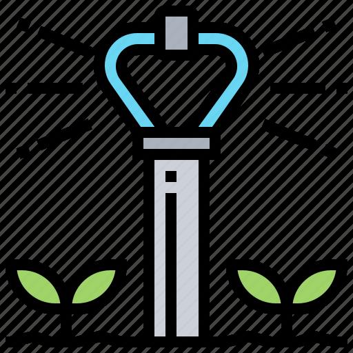 agriculture, farm, harvest, irrigation, plant icon