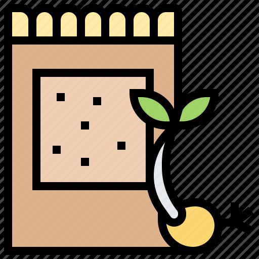 bag, farming, garden, harvest, seeds icon