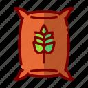 agriculture, farm, farming, harvest, nature, wheat icon