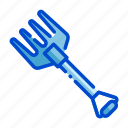 agriculture, farm, farming, fork, harvest, nature icon
