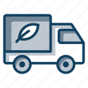 delivery automobile, delivery truck, delivery van, delivery vehicle, fast delivery icon
