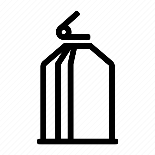 bucket, can, container, fill icon