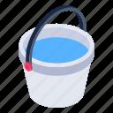 water basket, water bucket, water pail, aqua pail, aqua basket