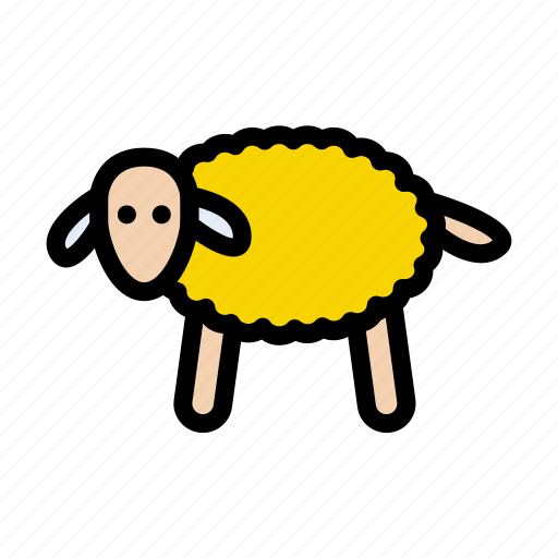 Agriculture, animal, farming, oveja, sheep icon - Download on Iconfinder