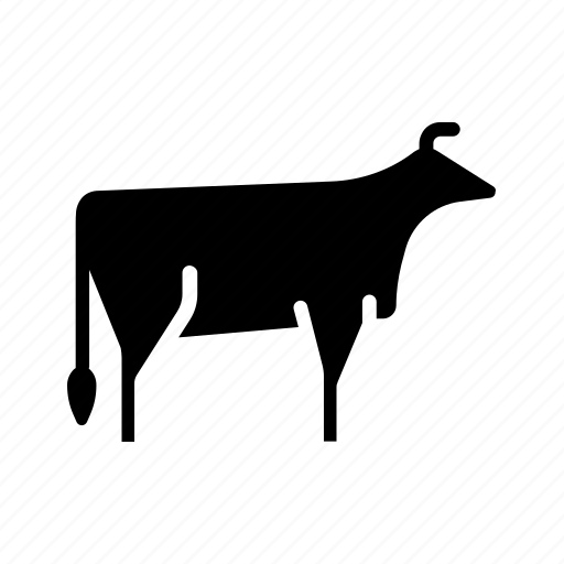 agriculture, beef, cattle, cow, farm, meat, organic icon