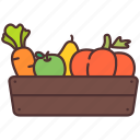 carrot, farming, agriculture, fruit, gardening, vegetables, product icon