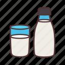 agriculture, drink, farming, food, gardening, milk icon
