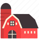 agriculture, barn, building, farm, farming, gardening icon