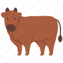 agriculture, animal, cow, farming, gardening, mammal icon