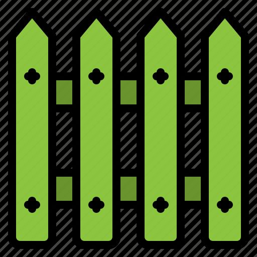 barrier, fence, garden, gardening, wood, wooden icon