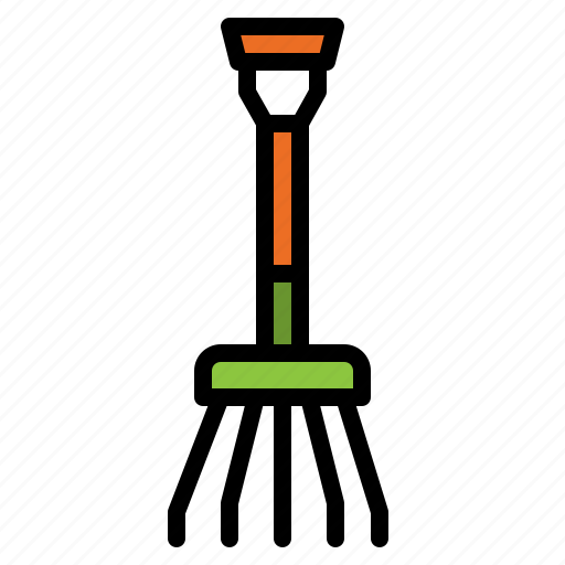 equipment, fork, garden, gardening, tool icon