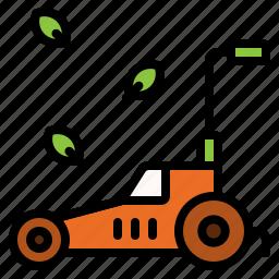 equipment, garden, gardening, lawn, mower, tool icon