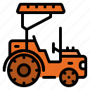 automobile, tractor, truck, vehicle icon