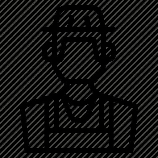 avatar, farmer, gardener, human icon