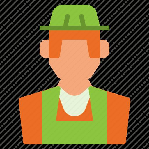 avatar, farmer, gardener, human, man icon