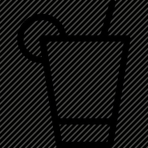 cocktail, drink, glass, lemonade, soda icon