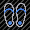 fashion, flipflop, footwear, sandal, sleeper icon