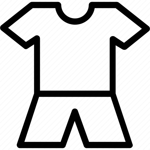 knickers, night suit, shirt, shorts, sleepwear icon
