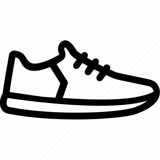 footwear, jogging, shoes, sneakers, sports shoes icon