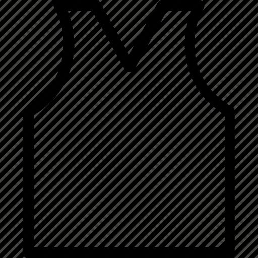 cami, sleeveless, underclothes, undergarments, vest icon