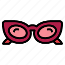 fashion, glasses, summer, sunglasses icon