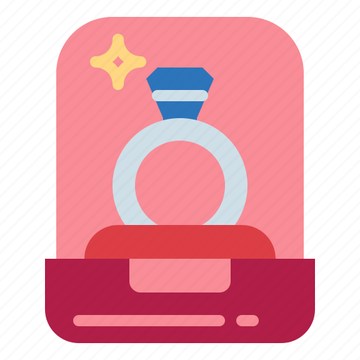 Diamond, fashion, jewel, ring icon - Download on Iconfinder