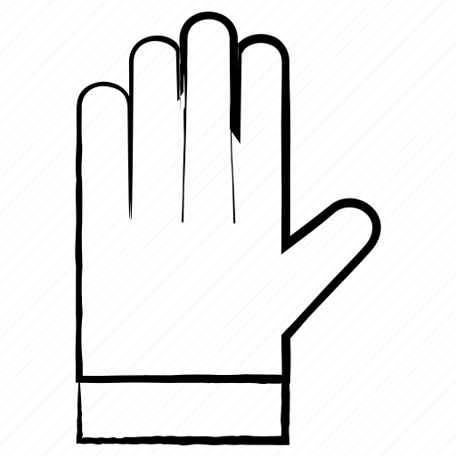 cloths, dress, garments, gloves icon