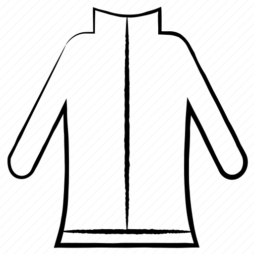 cloths, dress, garments, jacket icon