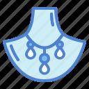 accesory, diamond, fashion, necklace icon
