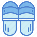 clothing, comfortable, footwear, slipper icon