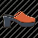 fashion, female, girl, sandals, woman icon