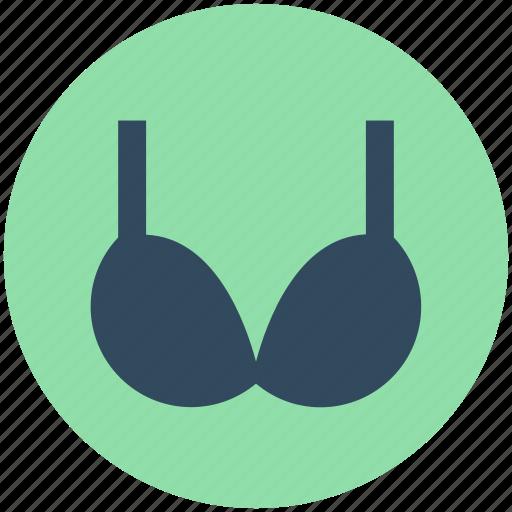 beach clothes, bra, brassiere, swimwear, undergarment icon