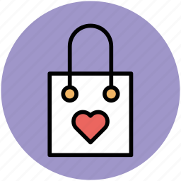 paper bag, shopper bag, shopping, shopping bag, tote bag icon