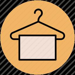 closet, clothes hanger, hanger, towel hanger, wardrobe icon