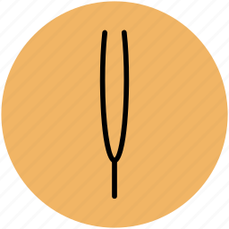 beauty care, eyebrow tweezer, hair salon, personal care, tweezer icon
