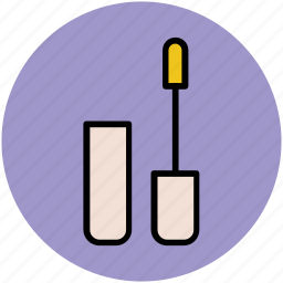 beauty product, cosmetic, eyelash extension, makeup, mascara icon
