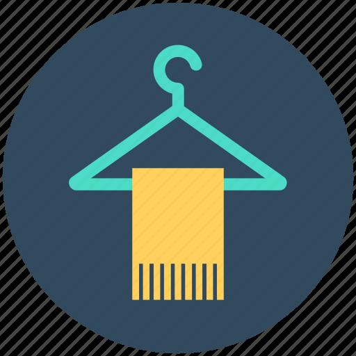 bathing, hanger, towel, towel on hanger, wiping towel icon