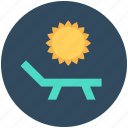 poolside, sun, sun tanning, sunbathe, tanning icon